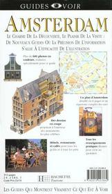 Guides voir ; amsterdam - 4ème de couverture - Format classique