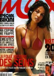 Max N°149 - La Folle Histoire Des Seins - Special Bikini Avec Camila Baldi, La Star D'Elite Bresil... - Couverture - Format classique