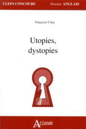 Utopies, dystopies - Couverture - Format classique