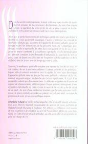 Souffrance spirituelle du patient en fin de vie ; la question du sens - 4ème de couverture - Format classique
