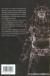 Le chant des morts. 1. Le chant des morts - 4ème de couverture - Format classique