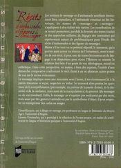 Récits d'ambassades et figures du messager - 4ème de couverture - Format classique
