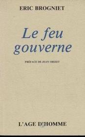 Le Feu Gouverne - Couverture - Format classique