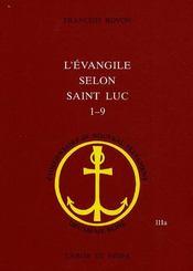 L'évangile de luc 1-9 - Intérieur - Format classique