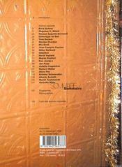 Nous nous sommes tant aimes [exposition, paris, ecole nationale superieure des beaux-arts, du 14 dec - 4ème de couverture - Format classique