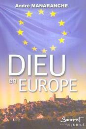 Dieu En Europe - Intérieur - Format classique