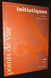 Revue Points De Vue Initiatiques N°102 - Couverture - Format classique
