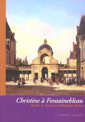 Christine à Fontainebleau - Intérieur - Format classique