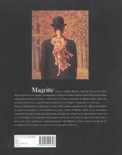 Magritte (Broche) Nouvelle Edition - 4ème de couverture - Format classique