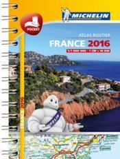 Mini atlas France (édition 2016) - Couverture - Format classique