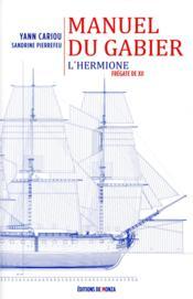 Le manuel du gabier - Couverture - Format classique