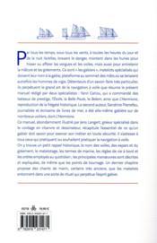 Le manuel du gabier - 4ème de couverture - Format classique
