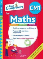 Pour comprendre les maths ; CM1 - Couverture - Format classique