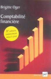 Comptabilite financière - Intérieur - Format classique