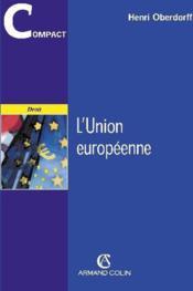 L'union européenne - Couverture - Format classique