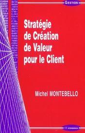 Creation De Valeur Pour Le Client - Intérieur - Format classique