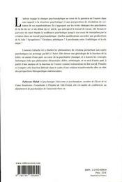 La lettre et l'oeuvre dans la psychose - 4ème de couverture - Format classique