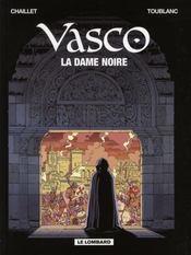 Vasco t.22 ; la dame noire - Intérieur - Format classique