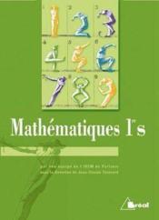 Mathematiques premiere s - Couverture - Format classique