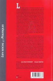 Que Reste-T-Il Des Classes Sociales - 4ème de couverture - Format classique