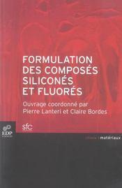 Formulation des composés siliconés et fluorés - Intérieur - Format classique