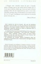 Sur baudelaire flaubert et morand - 4ème de couverture - Format classique