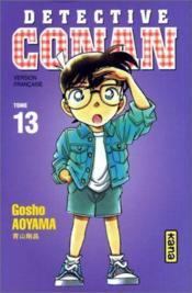 Detective Conan T13 - Couverture - Format classique