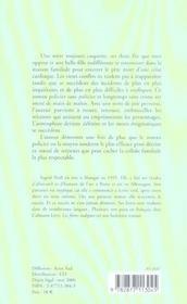 Les frères indignes - 4ème de couverture - Format classique