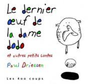 Dernier Oeuf De La Dame Dodo (Le) - Couverture - Format classique