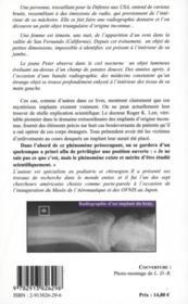 Ovnis Et Implants - Un Chirurgien Temoigne - 4ème de couverture - Format classique