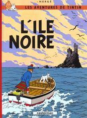 Les aventures de Tintin T.7 ; l'île noire - Intérieur - Format classique