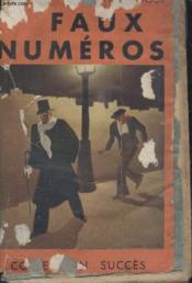 Collection Succes N°31 Faux Numero. - Couverture - Format classique