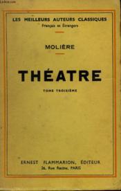 Theatre Complet. Tome 3. - Couverture - Format classique