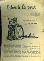 Suspense Recits Noirs N° De 1957. Echec A La Peur De Craig Rice. - Couverture - Format classique