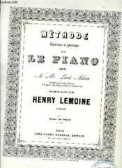 Methode Pour Le Piano - Couverture - Format classique