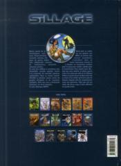 Sillage T.17 ; grands froids - 4ème de couverture - Format classique