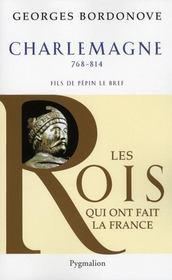 Charlemagne ; 768-814 ; fils de Pépin Le Bref - Intérieur - Format classique