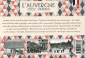 100% VINTAGE ; l'Auvergne à travers la carte postale ancienne - 4ème de couverture - Format classique