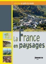 La France en paysages - Couverture - Format classique