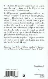 Chambre Froide - 4ème de couverture - Format classique