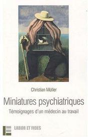 Miniatures Psychiatriques - Intérieur - Format classique