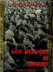 600 Millions De Chinois. Sous Le Drapeau Chinois. - Couverture - Format classique