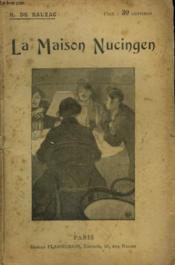 La Maison Nucingen. Collection : Oeuvres De Balzac. - Couverture - Format classique