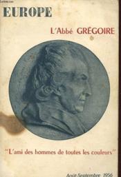 Europe N° 128-129 : L Abbe Gregoire