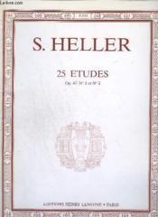 25 Etudes - Op.47 - N° 1 Et N°2. - Couverture - Format classique