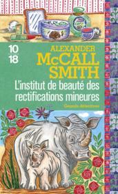 L'institut de beauté des rectifications mineures - Couverture - Format classique