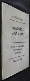 Wandrers Sturmlied - Couverture - Format classique
