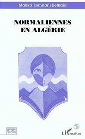 Normaliennes en algérie - Intérieur - Format classique
