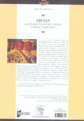 Erevan ; la construction d'une capitale à l'époque soviétique - 4ème de couverture - Format classique