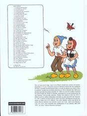 Sylvain et Sylvette t.1 ; la ferme abandonnée - 4ème de couverture - Format classique